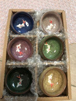 陶瓷小碗一套