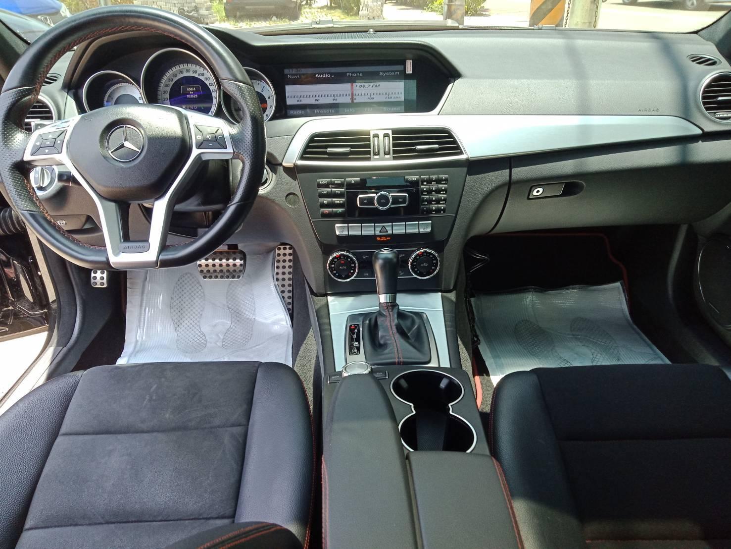 2012年 c250 plus 全景 Ikey 黑 跑10萬 熱門車中古車二手車
