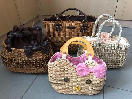 🚚 BN Rattan hand bags