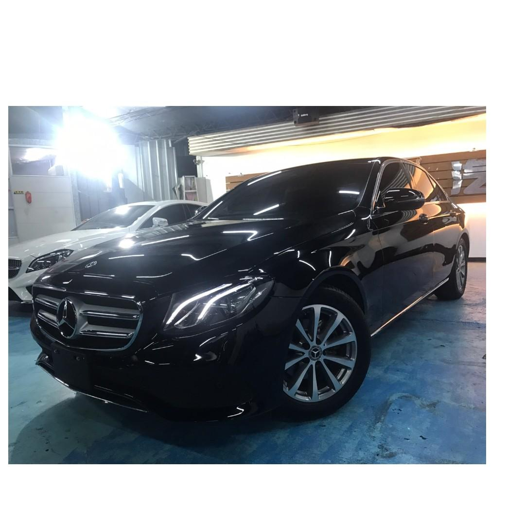 2018年 Mercedes-Benz總代理W213 E220d 184.8萬~~非自售 一手 女用車