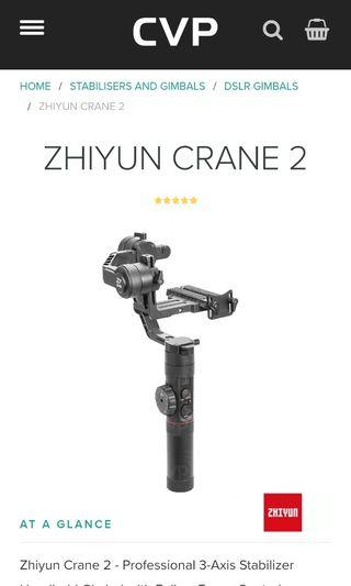 Zhiyun Crane 2, offer your price!!