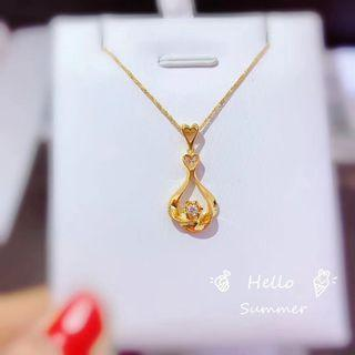 🚚 Real 18K gold ➕Real demand 💎 necklace