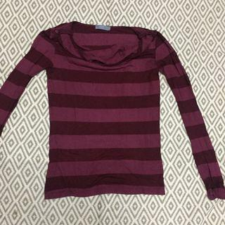 Stripe Long Sleeves Shirt