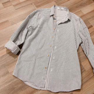Ulzzang Striped Button Down Outwear Top