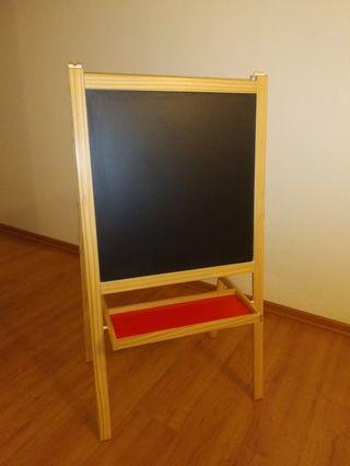 White board & black board stand - IKEA