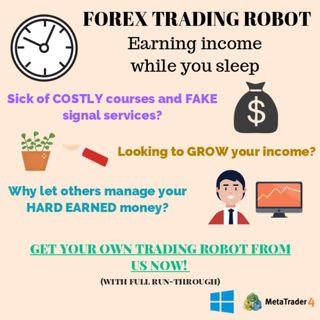 Automated Passive Income Using Forex Robot Machine Trading
