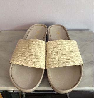 Solsana Woven Sandals 8.5