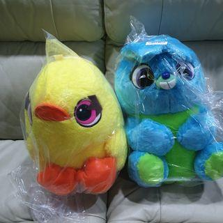 Toy Story Bunny and Ducky Plush