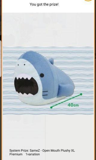 SameZ Shark Plush Hand Warmer