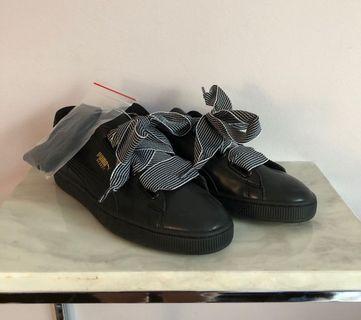 Puma Basket Heart Sneakers 8.5