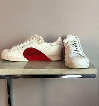 Adidas Superstar 80's Half Heart Sneakers 9