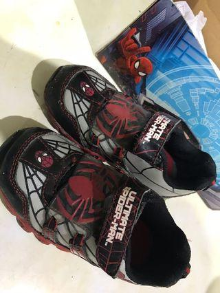 Spiderman marvel shoes