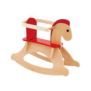 🚚 Baby Kid Solid Wood Wooden Rocking Horse