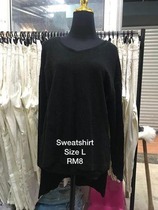 Oversized Black Knitwear