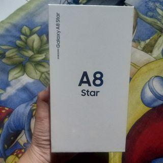 Samsung galaxy a8 star 4gb/64gb white