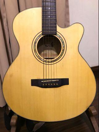 WOLF ACOUSTIC GUITAR