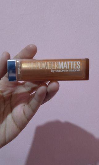 Maybelline lipsmatte