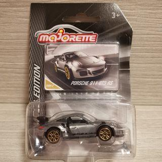 MAJORETTE LIMITED EDITION PORSCHE 911 GT3 RS not tomica hotwheels hot wheels