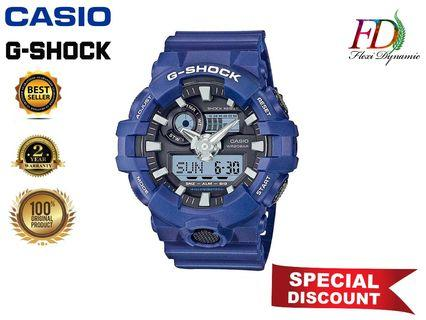 Original Japan Import GA-700-2A Blue Resin Strap Digital Watch/Blue Resin Band Men Sports Watch Casio G-Shock No Ratings Yet