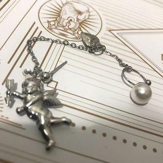 邱比特耳環 珍珠的地方可夾耳骨