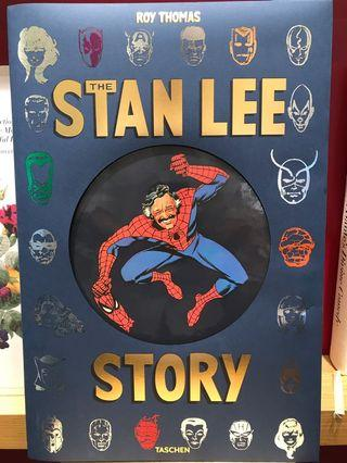 TASCHEN 漫威之父Stan Lee傳記 The Stan Lee Story