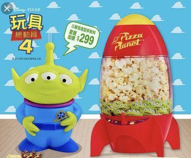 Toy story 三眼仔爆谷火箭