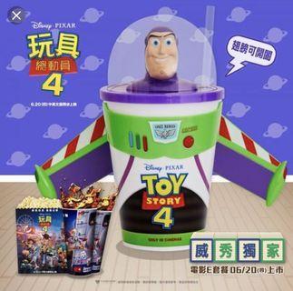 Toy story 巴斯杯 巴斯光年腳杯