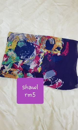 Shawl many types