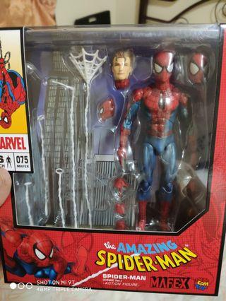 Mafex spiderman comic ver