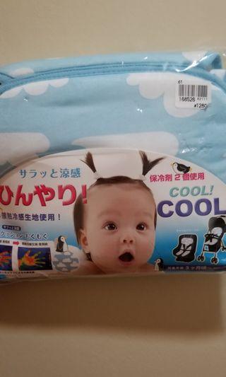 全新日本涼感嬰兒車墊