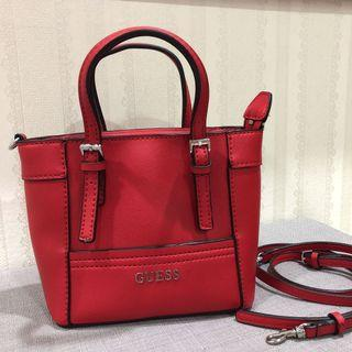 Authentic Red Guess Minibag