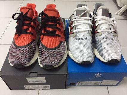 $220 for 2 pairs! Adidas EQT Support 91/18 100%Authentic