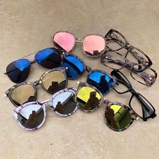 🚚 GM款墨鏡 共9副 太陽眼鏡出清 全部$199