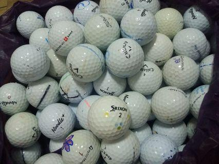 golf balls (mixed)