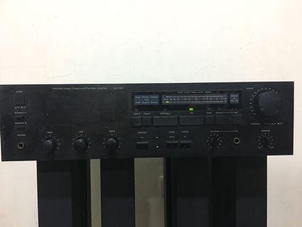 Amplifier 台灣製造 USHER AU 7000 鐵殼晶體擴大機 綜合擴大機 市場越來越少了 黑膠輸入