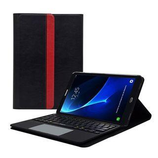 [KB-003] Sharon Samsung Galaxy Tab A 10.1 2016 Keyboard Case with Wireless Bluetooth Keyboard and Multitouch Trackpad