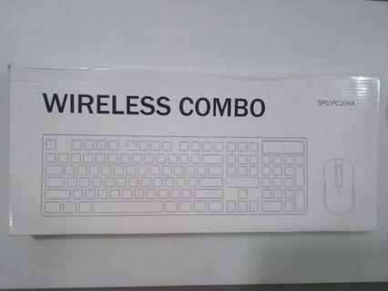 [KB-004] WIRELESS COMBO Keyboard with mouse