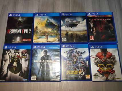Ps4 games for sale only