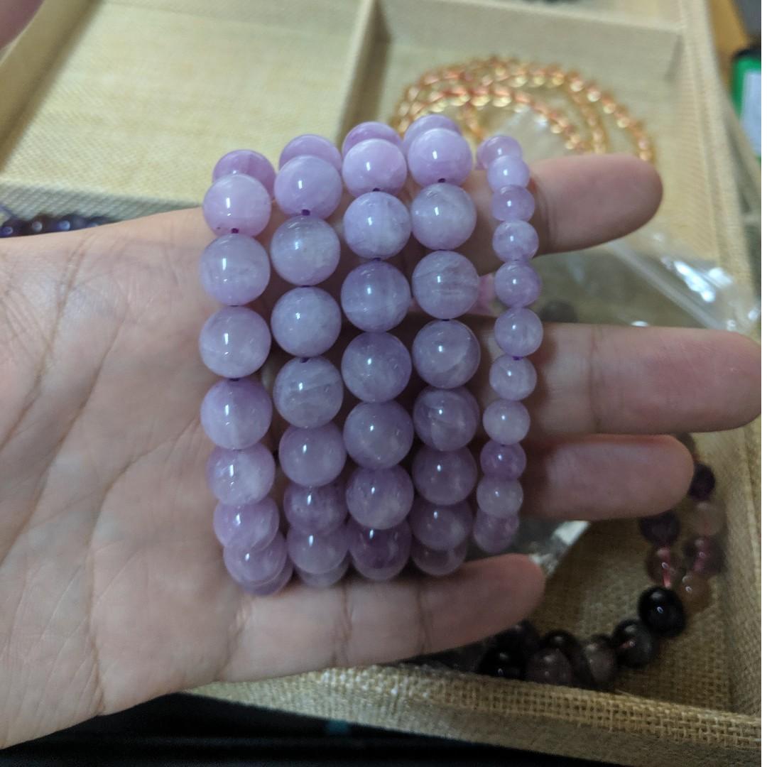 貓眼紫鋰輝 7mm-10mm