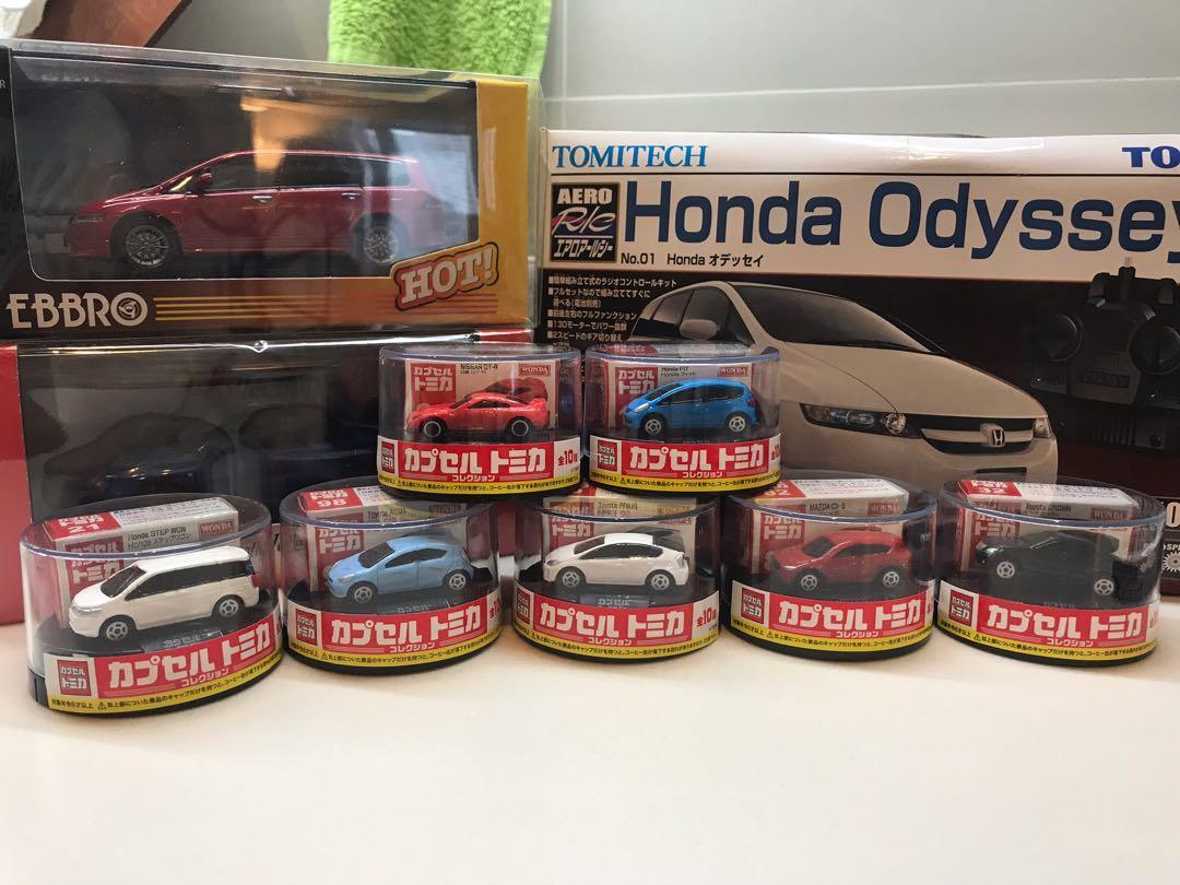 迷你 Tomy Tomica Nissan skyline Gtr Honda Jazz Fit Stepwgn Toyota crown Prius aqua Mazda cx5