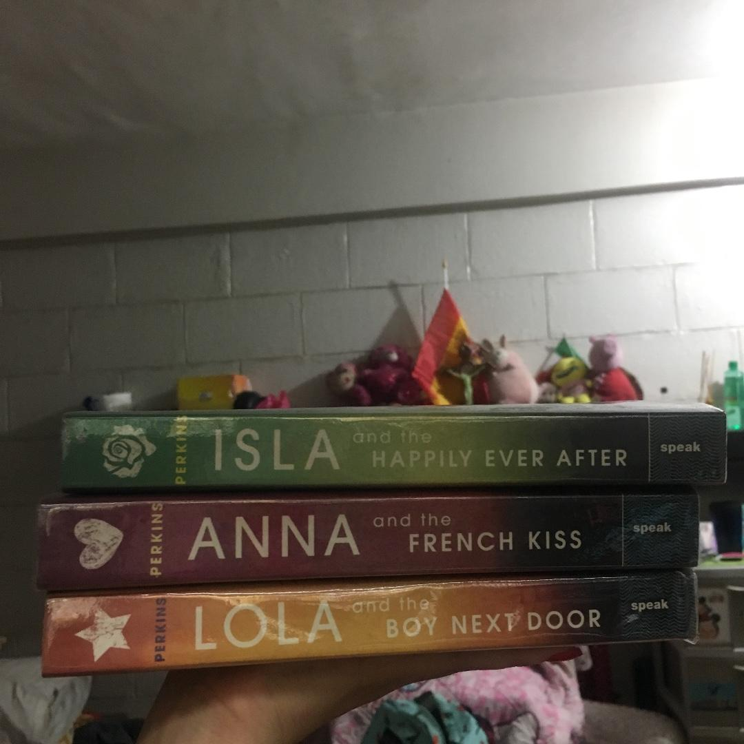 Anna and the French Kiss, Lola and the Boy next Door, Isla and the Happily Ever After Perkins Trilogy