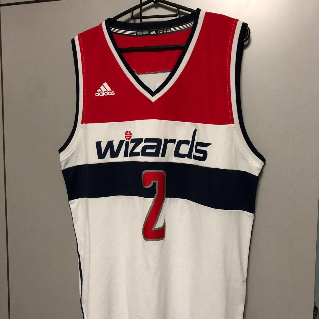 best service a8dff 1d9e4 Authentic John wall washington wizards nba jersey