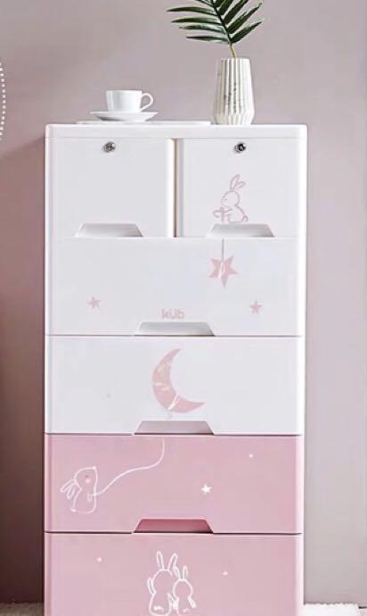 Baby Plastic Cabinets Storage Drawer