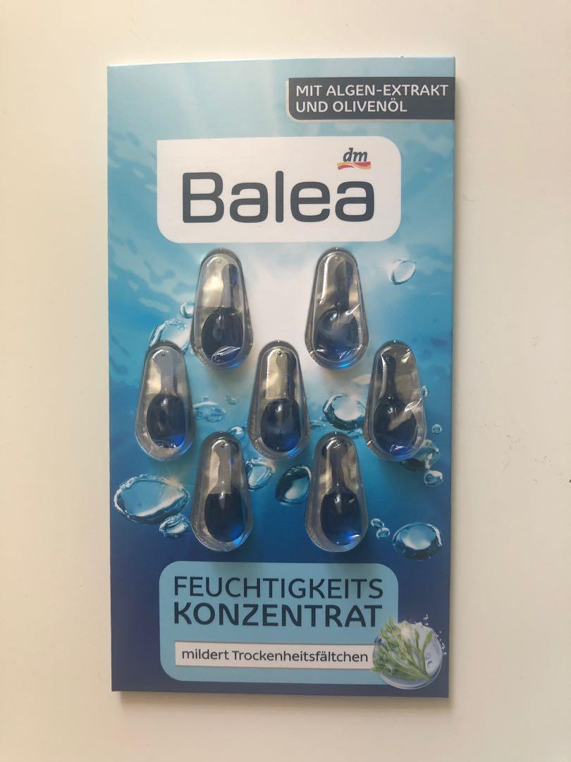 Balea moisturizing face concentrate serum capsules (3packs)