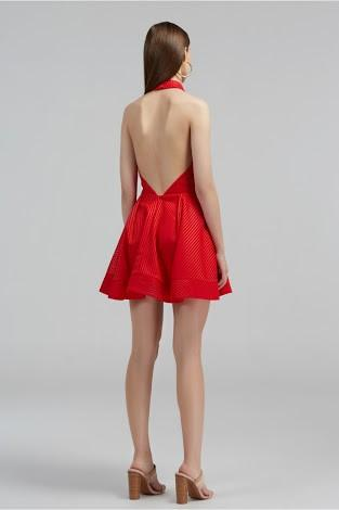 BNWT Finders Rumours Halter Mini Dress Red Size Small