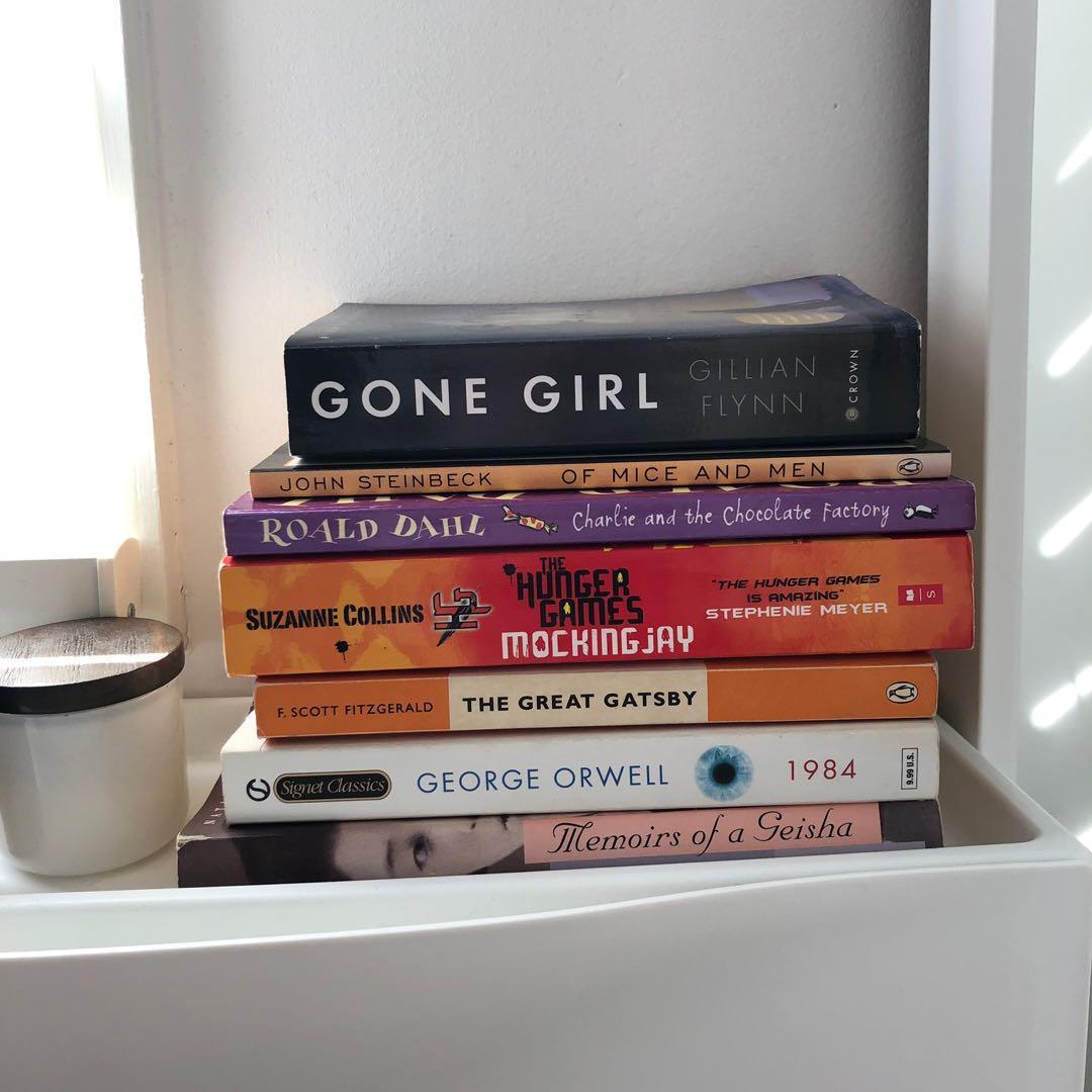 BOOKS FOR $5 EACH