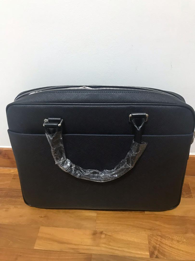 Brand New Austin Reed Leather Laptop Bag For Sale Luxury Bags Wallets Others On Carousell