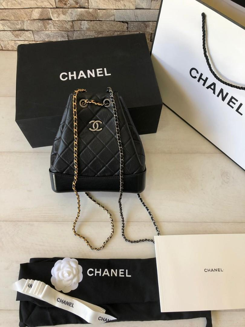 Chanel Gabriel Backpack 016, SUPERMIRROR, Quality paling Bagus, w22xh23xd10cm   H @4.4 jt