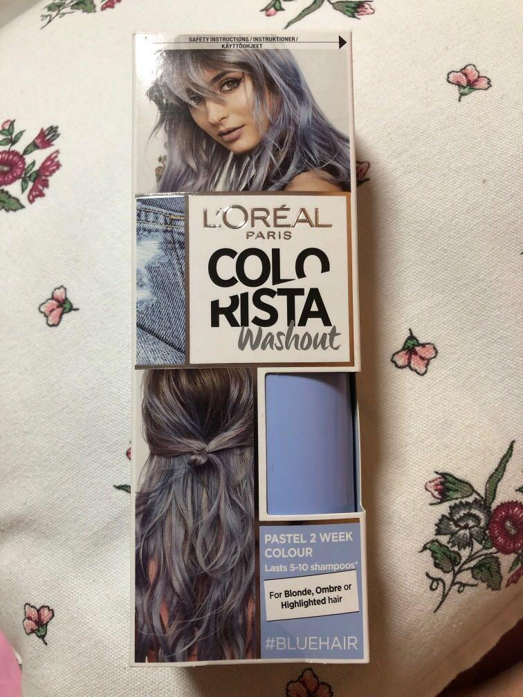 Colorista Washout Temporary Hairdye, Health & Beauty, Hair