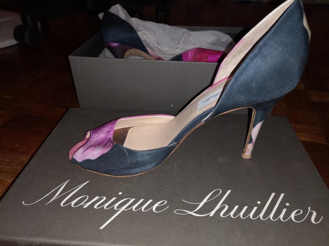 Designer shoes Monique Lhuiller Orchid